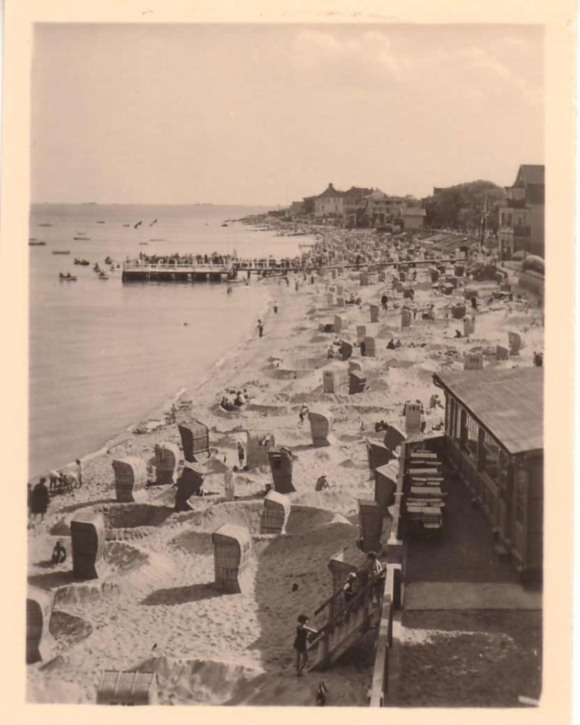 Strandkörbe am Wyker Strand